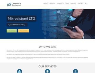 mikrosistemi.com screenshot