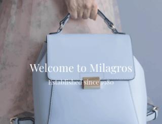 milagros.com screenshot