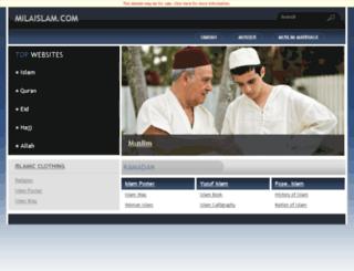 milaislam.com screenshot