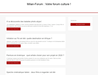 milan-forum.com screenshot