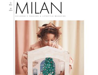 milan-magazine.de screenshot