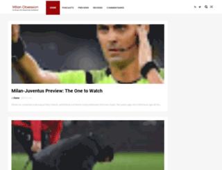 milanobsession.com screenshot