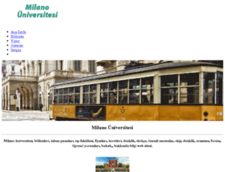 milanouniversitesi.biz screenshot