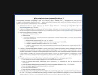 milanowek.pl screenshot