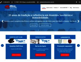 milassentos.com.br screenshot