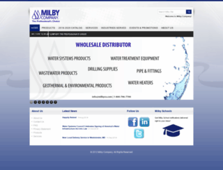 milbycompany.com screenshot