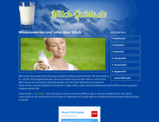 milch-guide.de screenshot