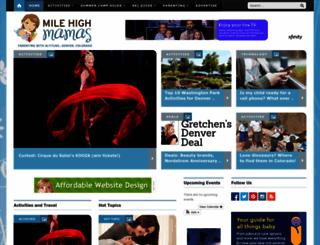 milehighmamas.com screenshot
