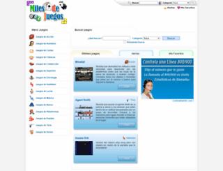 milesdejuegos.com screenshot