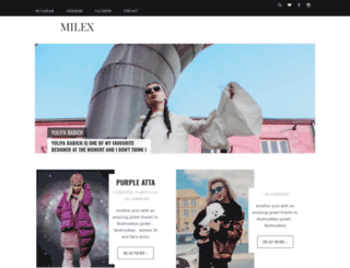 milexblog.blogspot.it screenshot
