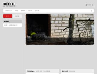 milidom.net screenshot
