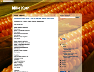 miliemeal.blogspot.com screenshot
