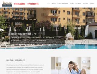 militari-residence.ro screenshot