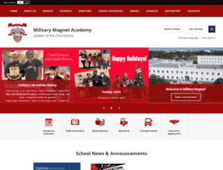 militarymagnet.ccsdschools.com screenshot