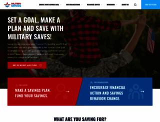 militarysaves.org screenshot