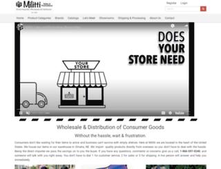 milittisales.com screenshot