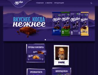 milka.ru screenshot