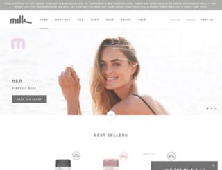 milkandco.com.au screenshot