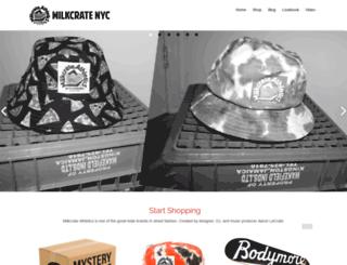 milkcratenyc.com screenshot
