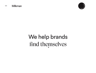 milkmanagency.com.au screenshot