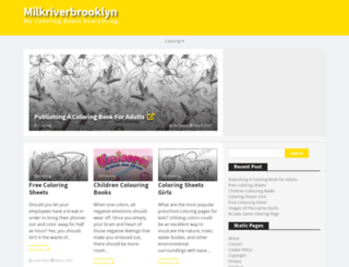milkriverbrooklyn.com screenshot