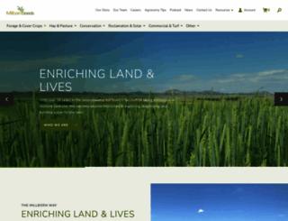 millbornseeds.com screenshot