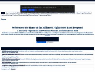 millbrookperformingarts.com screenshot