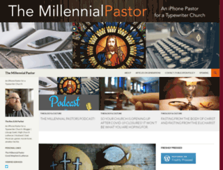 millennialpastor.wordpress.com screenshot