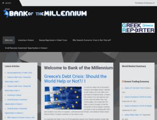 millenniumbank.gr screenshot