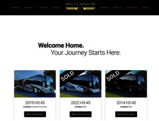 millenniumluxurycoaches.com screenshot