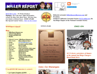 millerreport.com screenshot