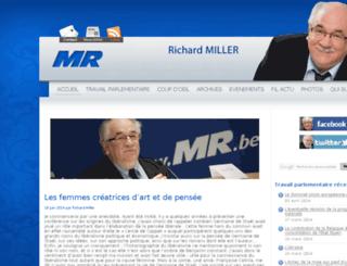 millerrichard.be screenshot
