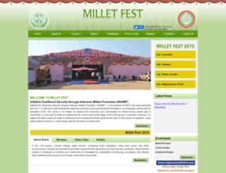 milletfest.org screenshot