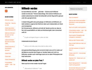 millionaer-und-mehr.de screenshot