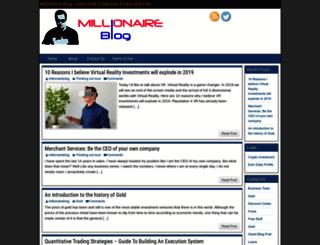 millionaireblog.co.uk screenshot