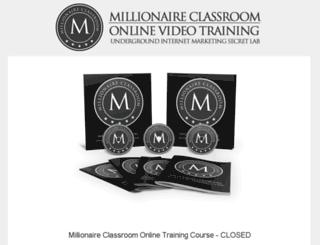 millionaireclassroom.com screenshot