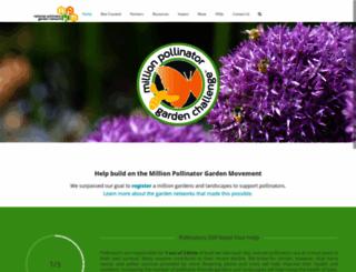 millionpollinatorgardens.org screenshot