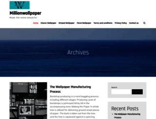 millionwallpaper.com screenshot