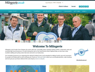 milngavie.co.uk screenshot