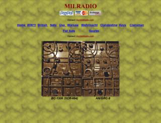 milradio.com screenshot