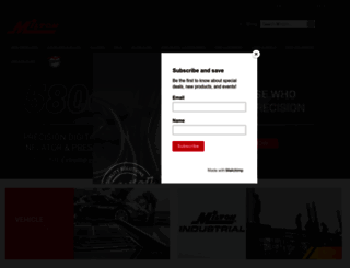 miltonindustries.com screenshot