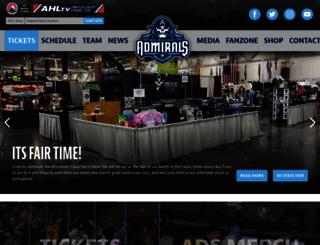 milwaukeeadmirals.com screenshot