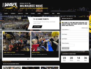 milwaukeewave.com screenshot
