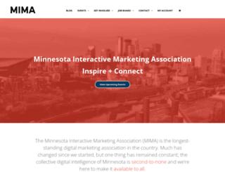 mima.org screenshot