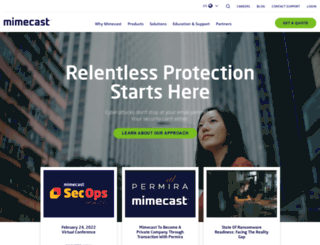 mimecast-offshore.com screenshot