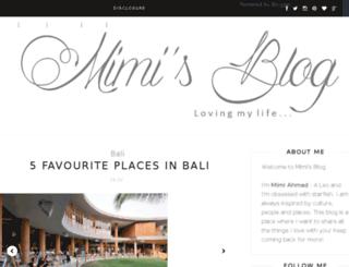 mimi-ahmad.com screenshot