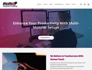 mimomonitors.com screenshot