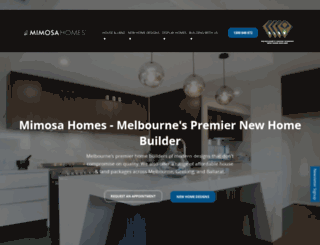 mimosahomes.com.au screenshot