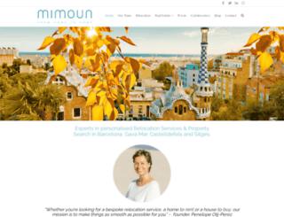 mimoun.es screenshot
