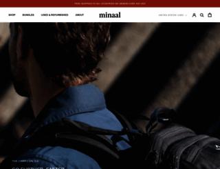 minaal.com screenshot